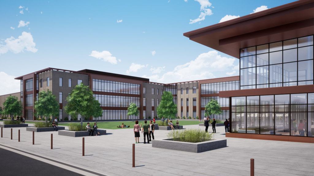 Cyprus High school rendering