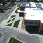 Aerial photo of South Kearns Elementary building