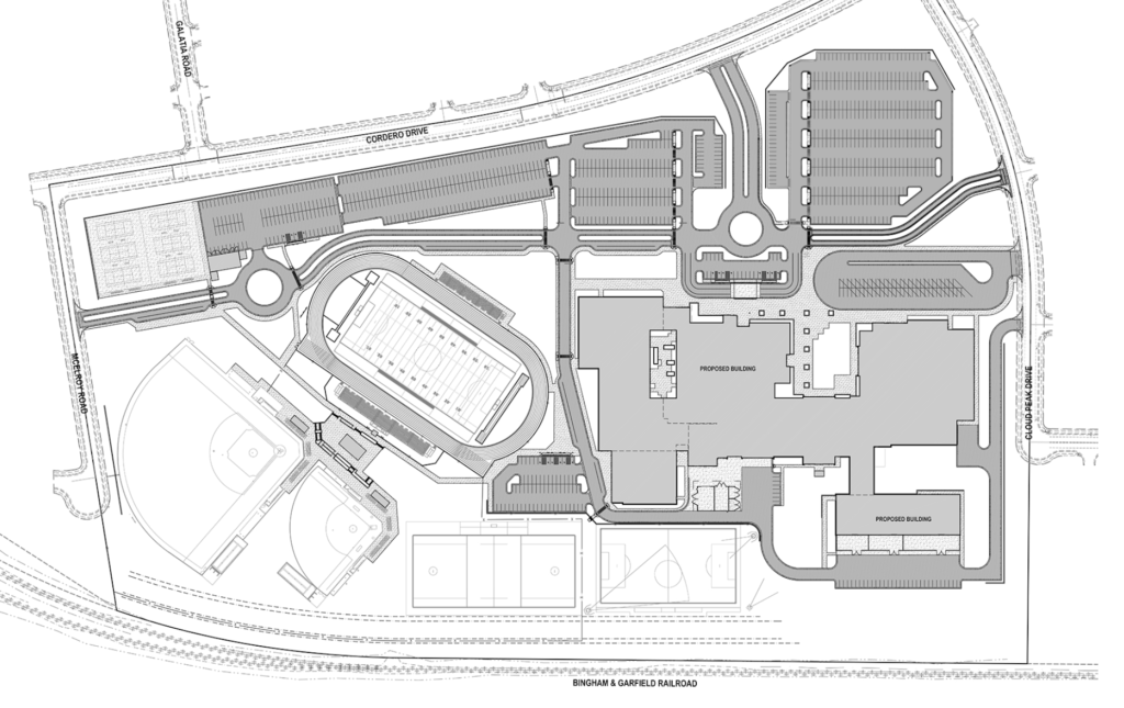 Cyprus High School layout site